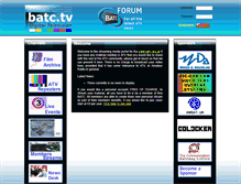 Tablet Preview of batc.tv